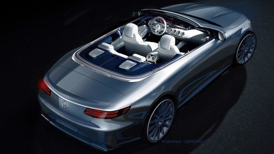 Mercedes benz s class cabriolet previewed in official render for Mercedes benz official site usa