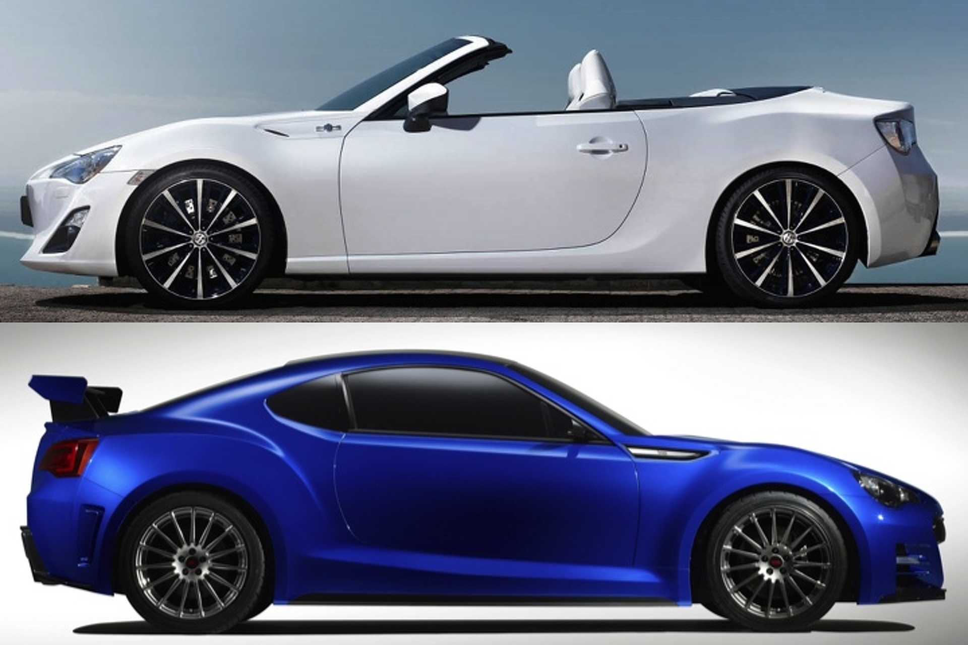 Subaru BRZ STI or Scion FR S Cabrio Which Would You Rather