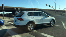 Volkswagen Tiguan LWB spy photos