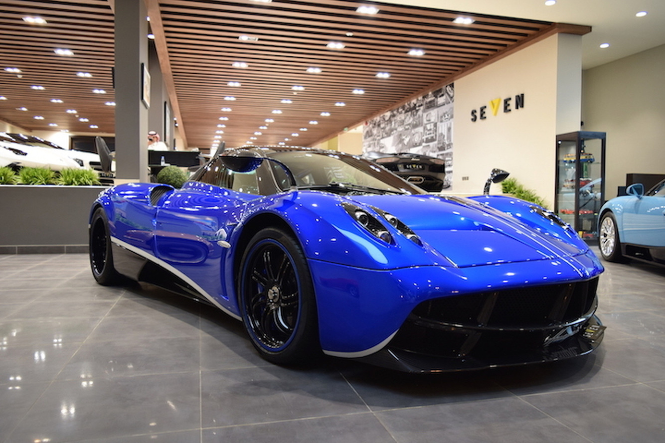 The Very First Pagani Huayra Ever Made is For Sale
