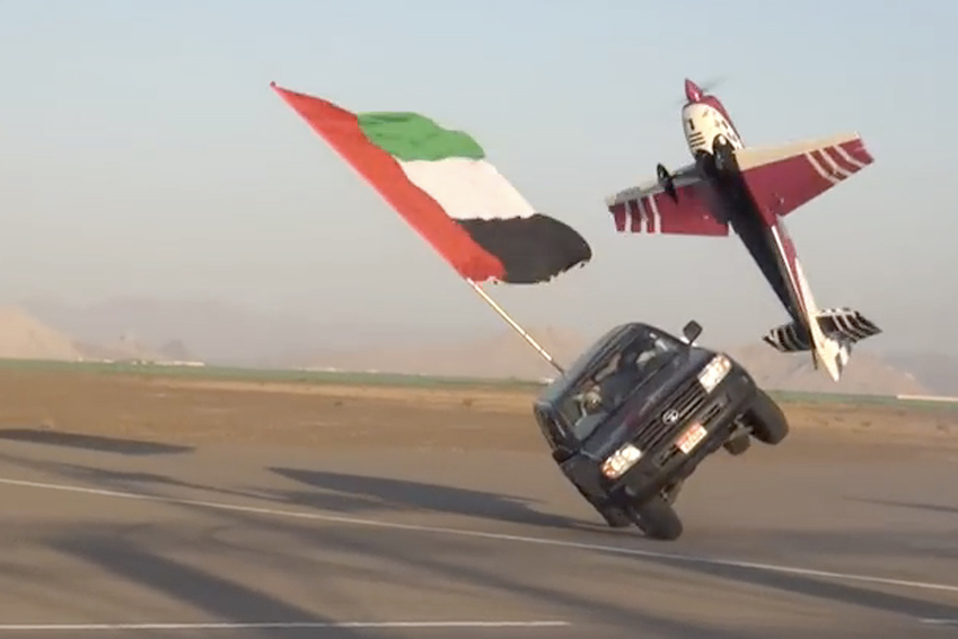 This Two-Wheel Land Cruiser Video is Beyond Insane