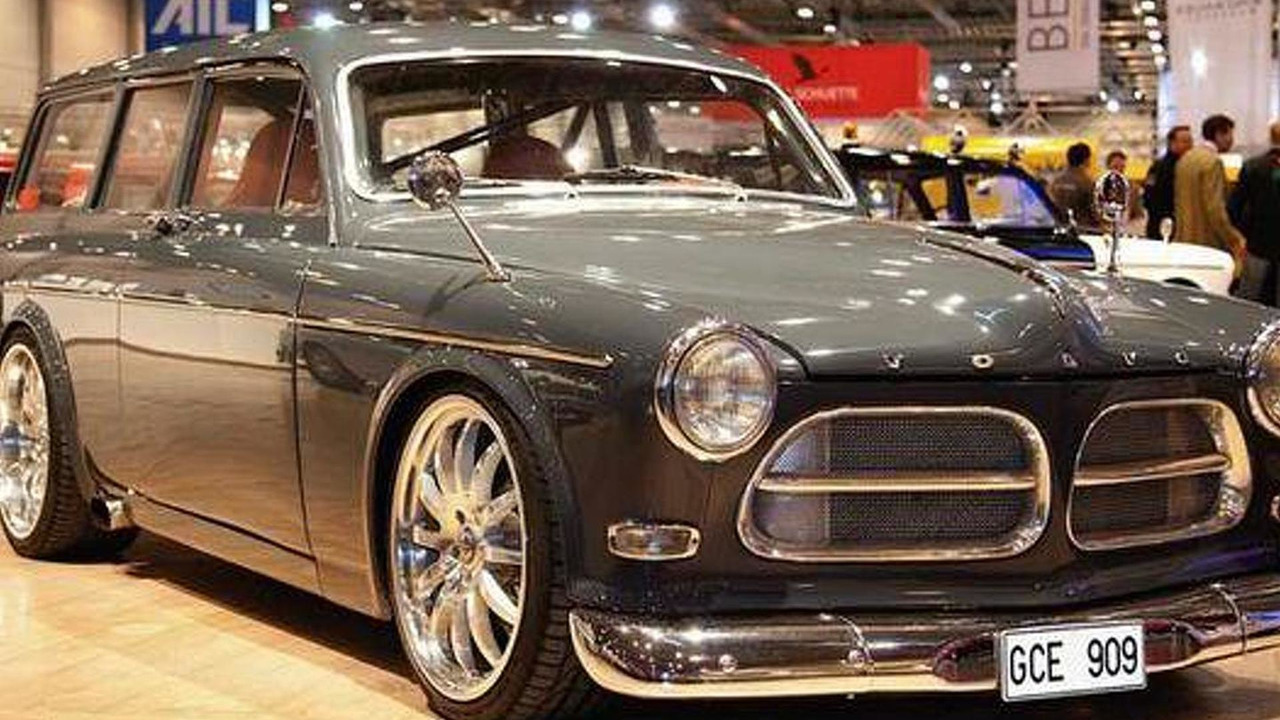1967 Volvo Amazon, claimed to be the fastest car in the UK