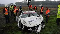 Ferrari 458 Italia crashed in Germany