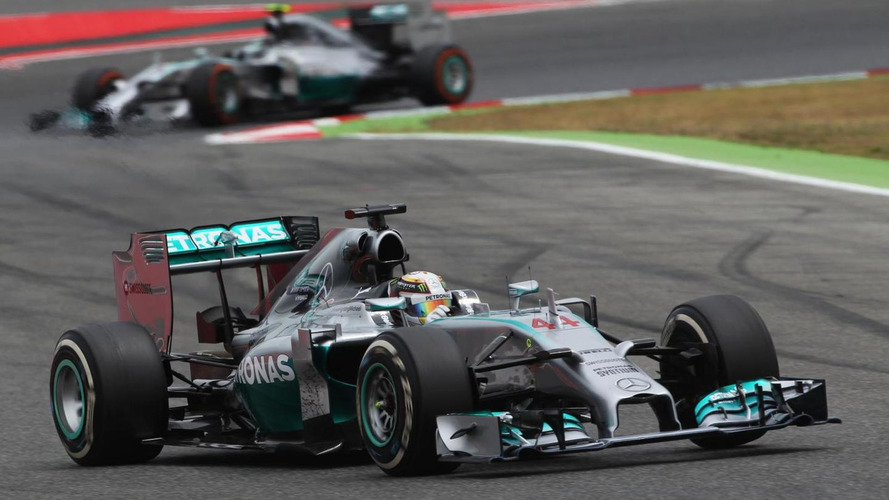 Hamilton open to more 'lively' rivalry with Rosberg