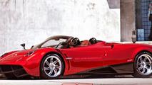 Pagani Huayra Roadster render