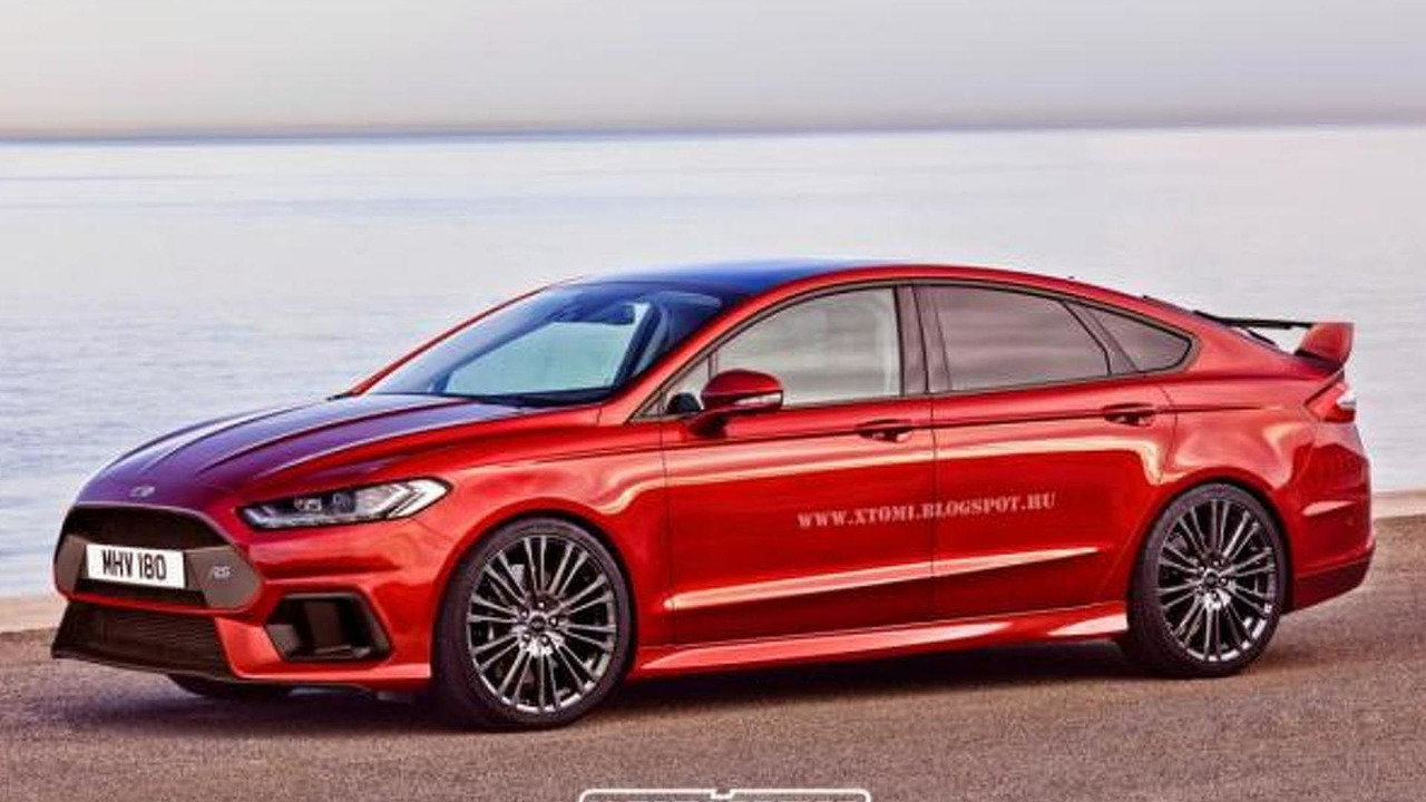 Ford Mondeo RS render