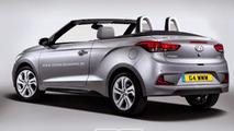 Hyundai i20 Cabrio rendering