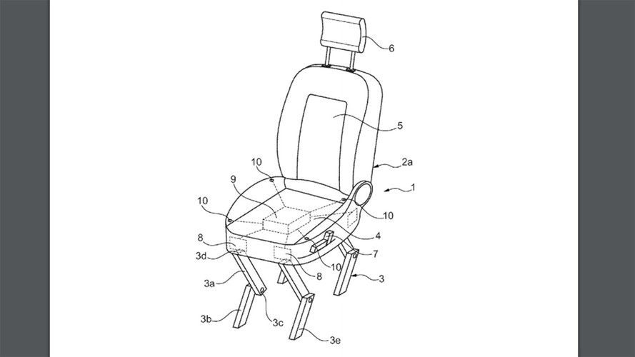 Ford Redefines Chair Legs With Automotive Seat That Can Walk