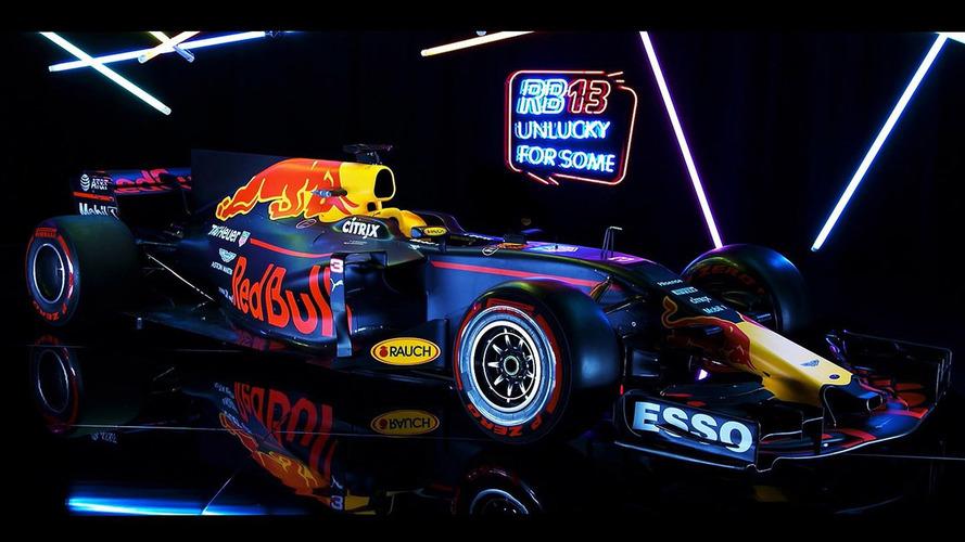 Red Bull presenta el RB13, el monoplaza con el que desafiará al campeón
