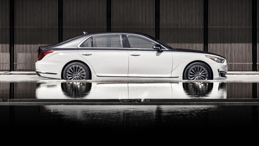 Genesis G90 Special Edition Revealed In Seoul Doing Maybach Impression