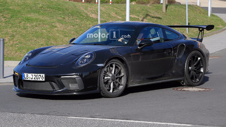Updated Porsche 911 GT3 RS Spied With Little Camo On The Road