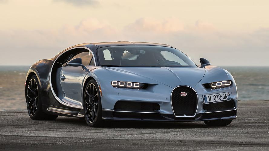 Volta rápida - Bugatti Chiron 2017