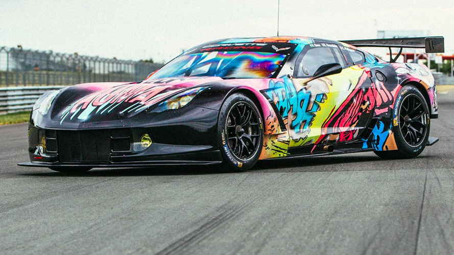 Radical Corvette Art Car Revealed For Le Mans