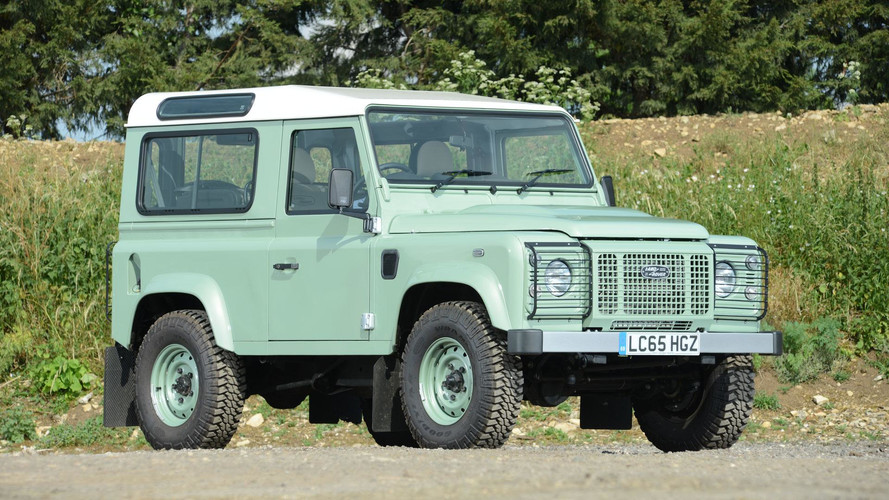 Rowan Atkinson's Rare Land Rover Defender Up For Auction