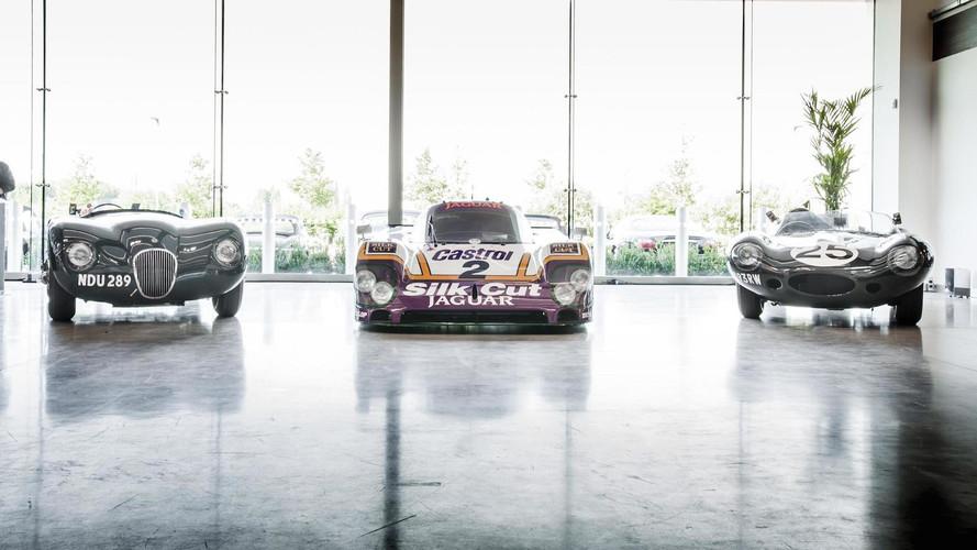 Jaguar, Le Mans efsanelerini sergiliyor