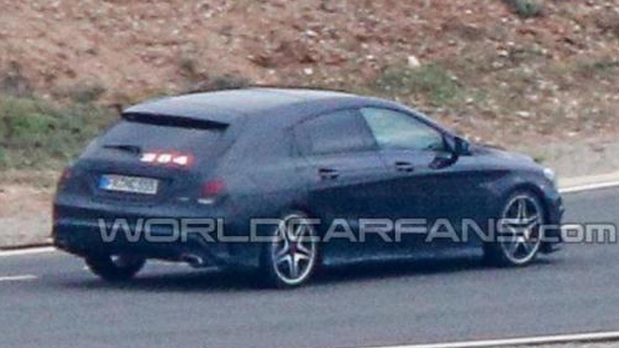 2015 Mercedes CLA Shooting Brake spied for the first time