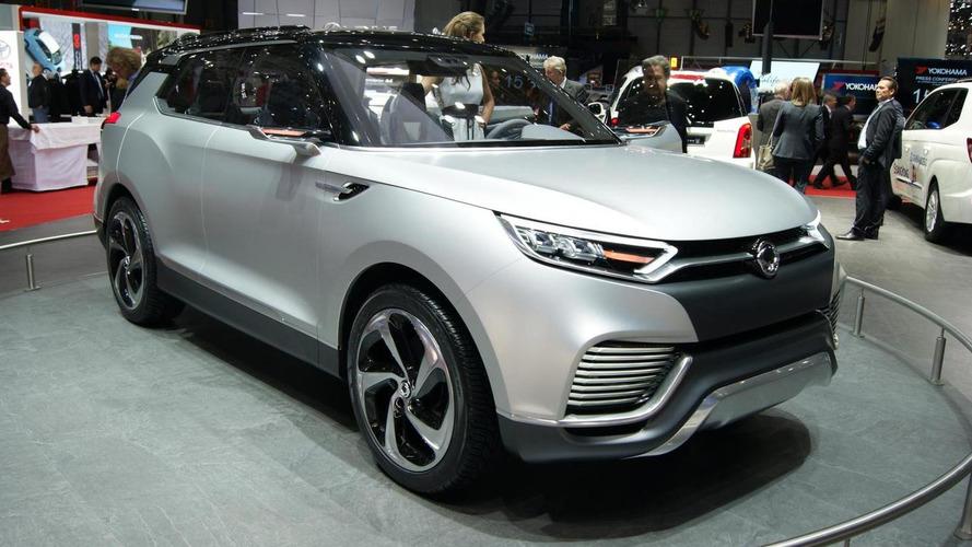 SsangYong XLV to underpin future B-Segment 7-passenger SUV