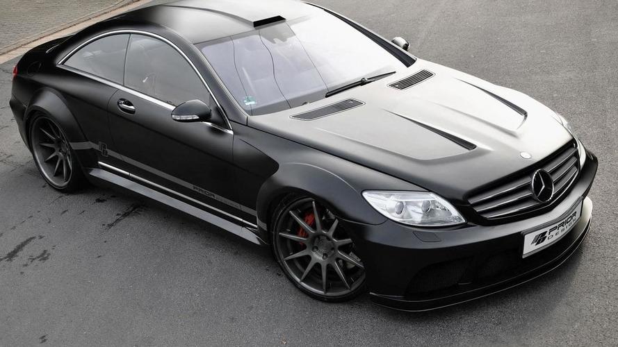 Mercedes CL Black Edition by Prior Design