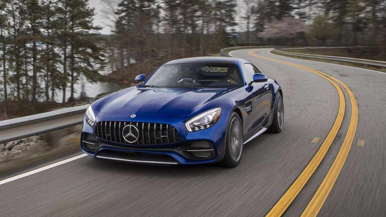 Mercedes-AMG GT R and GT C – Active Rear-Wheel Steering