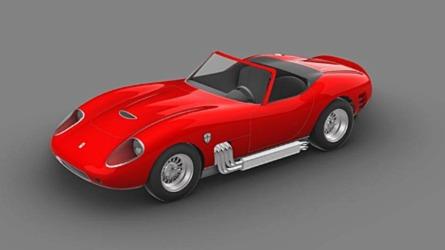 Az eredeti Ferrari California kaszniján alapuló modellt készít a Glickenhaus