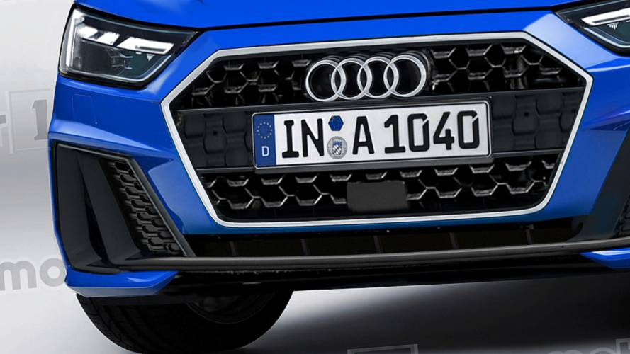 Audi A1 Sportback en illustration