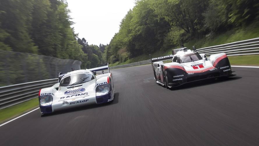 Porsche 919 Evo y 956 en Nürburgring