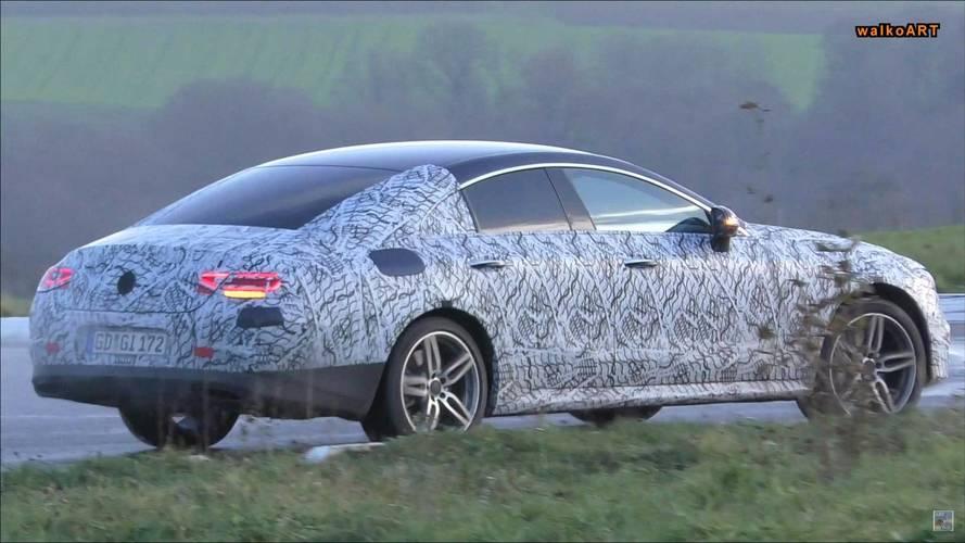 New Mercedes-AMG CLS 53 Spied On Street Hiding Aero Tweaks