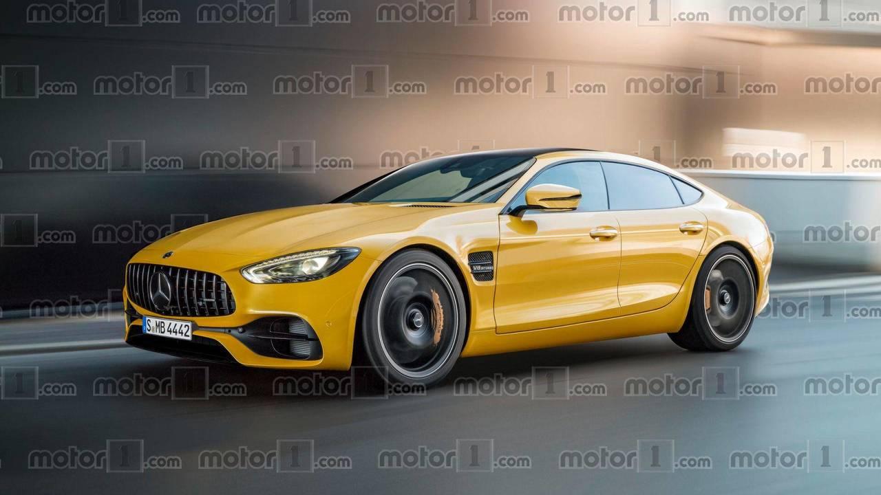 2019 Mercedes AMG GT Sedan