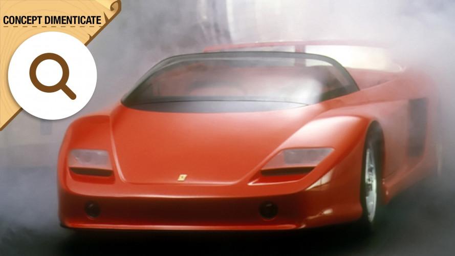 Ferrari Mythos, la Testarossa con aerodinamica attiva
