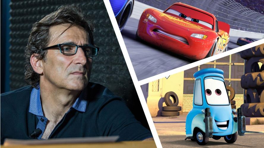 Cars 3, in esclusiva il video con Alex Zanardi