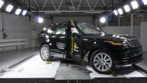 Range Rover Velar, crash test a 5 stelle