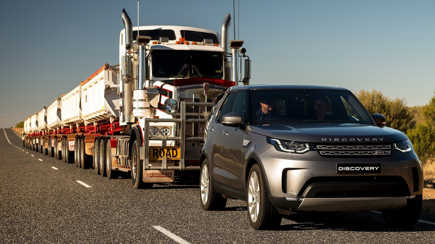Land Rover Discovery, nemmeno un autotreno la ferma