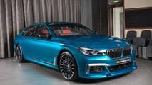 BMW M760Li xDrive Long Beach Blue