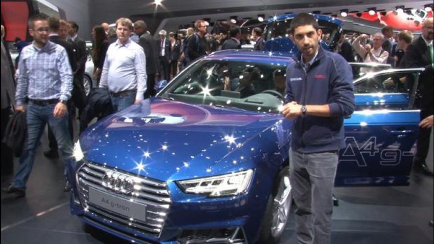 Nuova Audi A4, a Francoforte si svela tutta la famiglia [VIDEO]