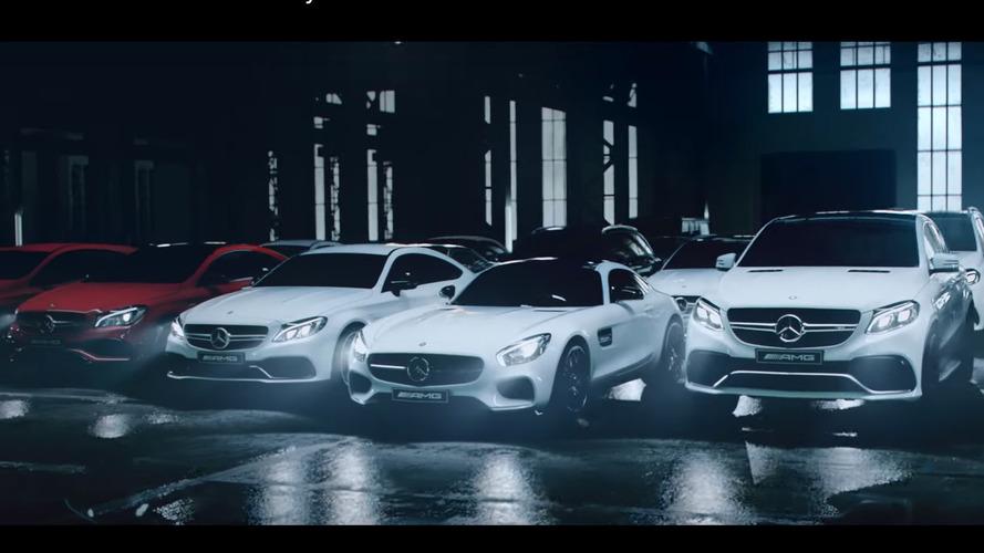 Mercedes AMG serisinin 2016 reklamı