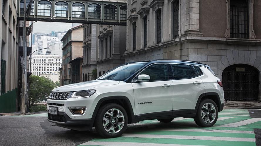 SUVs mais vendidos – Compass arrasa com estreia em 1º lugar em novembro