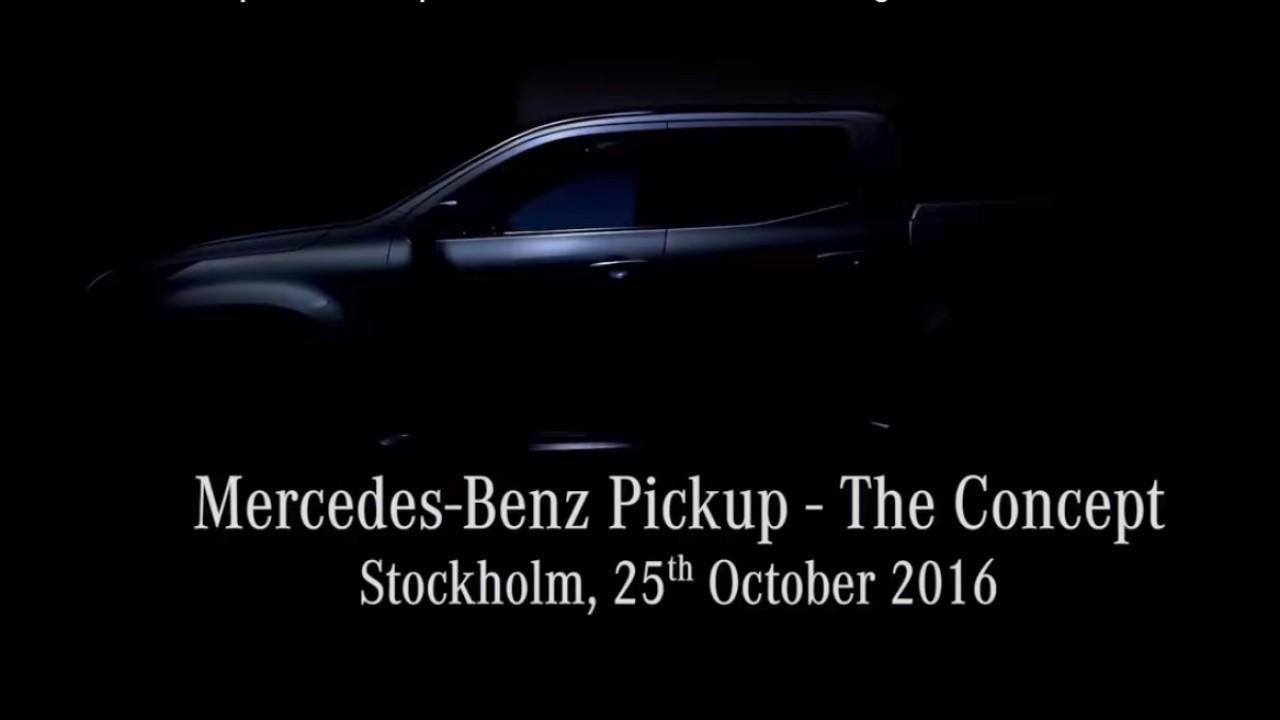 Mercedes começa a mostrar sua inédita picape; estreia será dia 25 - vídeo
