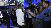 Nelly Talks to the Press at 2010 NAIAS