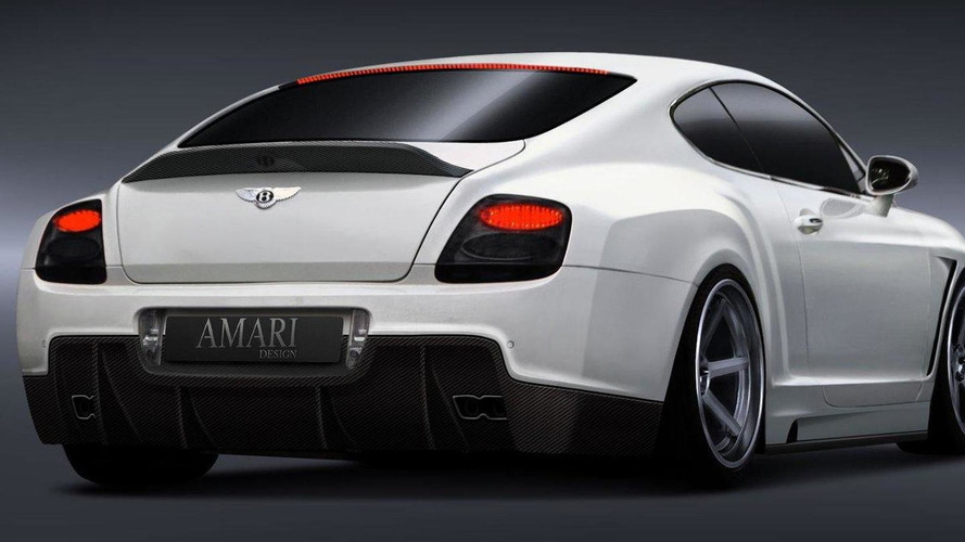 GT Evolution by Amari Design based on Bentley Continental GT