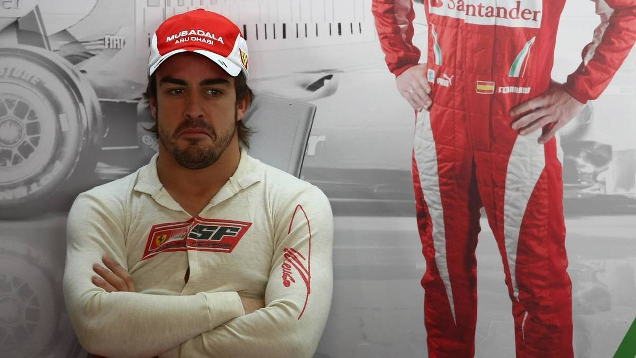 Fernando Alonso (ESP), Scuderia Ferrari - Formula 1 Testing, Pirelli tyre test, 20.11.2010 Abu Dhabi