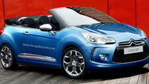 Citroen DS3 convertible heading to Paris Motor Show