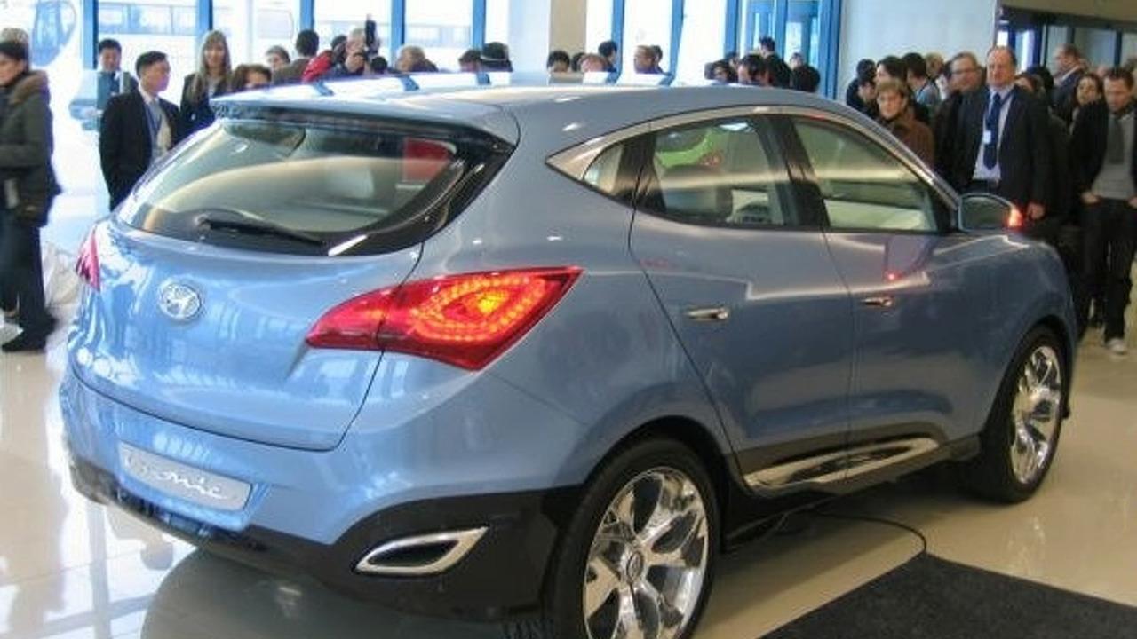 Hyundai HED-6 ix-ONIC Concept live photos - low res