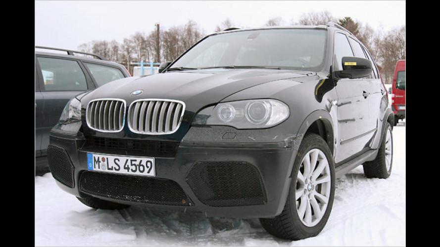 Erlkönig vor der Linse: Ist das der ultrastarke BMW X5 M?