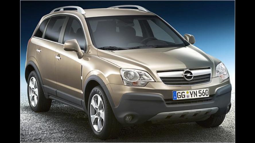 Opel Antara: Neuer Allradler kommt noch im Jahr 2006