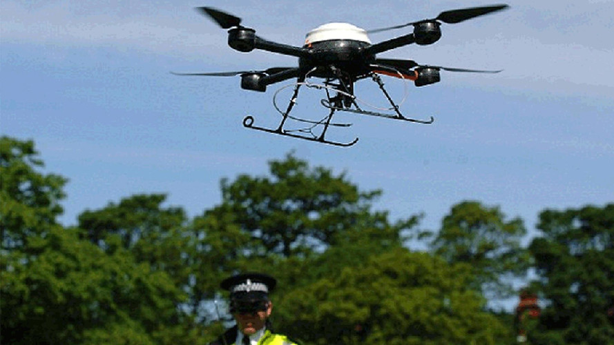 British Police Use Drones to Track Misbehaving Bikers