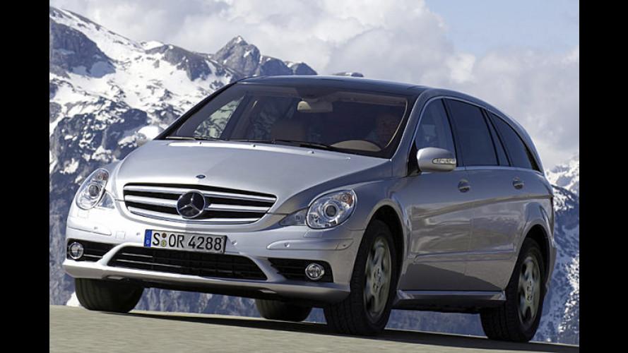 Mercedes steckt 2008 viel Neues in die SUVs der R-Klasse