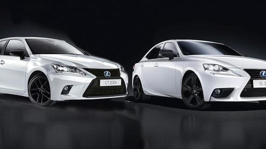 Lexus CT and IS gain Sport Edition in Europe; lack performance upgrades