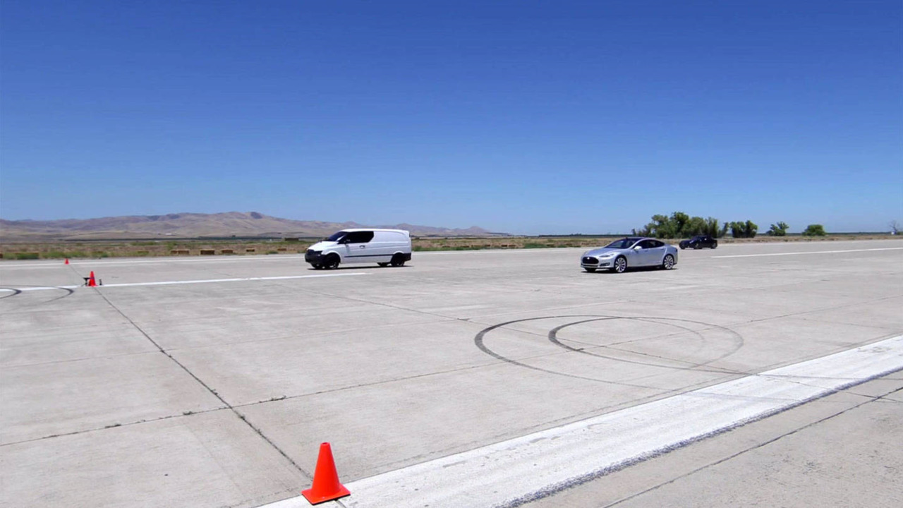 Atieva electric Mercedes van