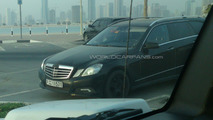 2010 Mercedes-Benz E-Class wagon spy photo in Dubai