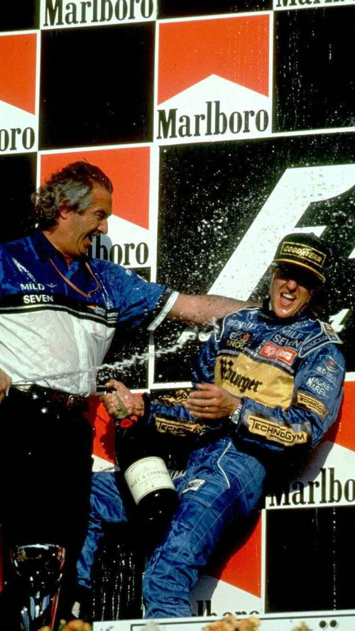 Schumacher not angry after Briatore jibes